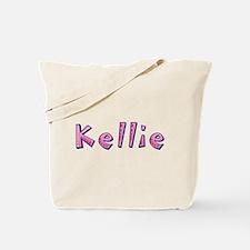 Kellie Pink Giraffe Tote Bag