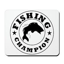 Fishing Champion Mousepad
