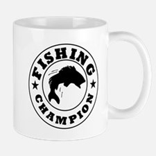 Fishing Champion Mugs