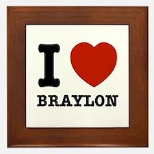 I love Braylon Framed Tile