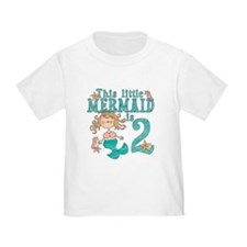 Mermaid 2nd Birthday T