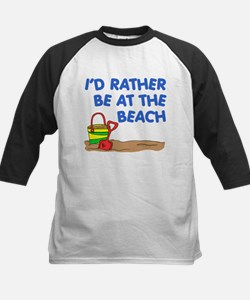 Rather Be At The Beach Baseball Jersey