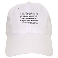 Just One Light Bulb Baseball Cap