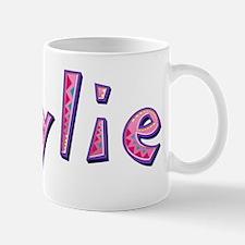 Kaylie Pink Giraffe Mugs
