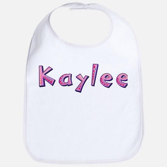Kaylee Pink Giraffe Bib