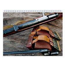 Cute Rifles Wall Calendar
