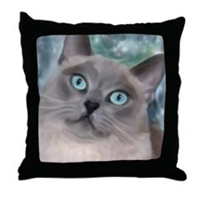 Cute Painted art Throw Pillow