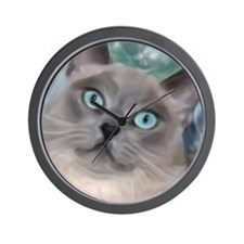 Unique Cat paintings Wall Clock