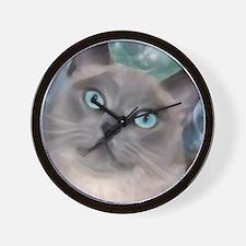 Cute Tonkinese Wall Clock