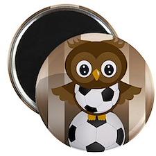 Soccer Owl Magnet