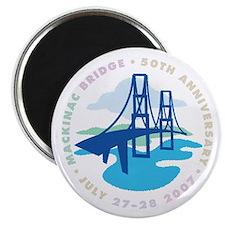 """Mackinac Bridge 2.25"""" Magnet (10 pack)"""