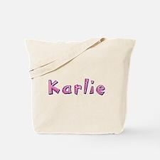 Karlie Pink Giraffe Tote Bag