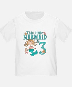 Mermaid 3rd Birthday T