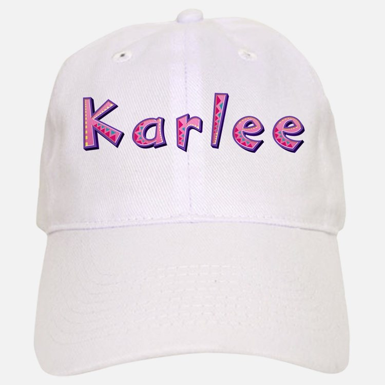 Karlee Pink Giraffe Baseball Cap