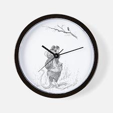 Little Mouse, Big Habit Wall Clock