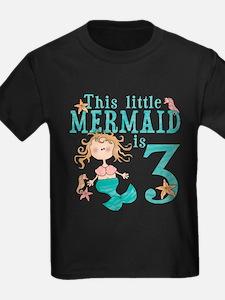 Mermaid 3rd Birthday T