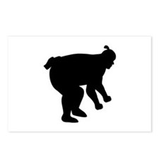 Sumo wrestling fighter Postcards (Package of 8)