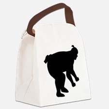 Sumo wrestling fighter Canvas Lunch Bag