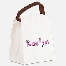 Kaelyn Pink Giraffe Canvas Lunch Bag