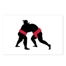 Sumo wrestling Postcards (Package of 8)