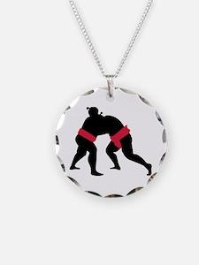 Sumo wrestling Necklace