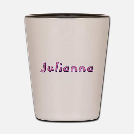 Julianna Pink Giraffe Shot Glass