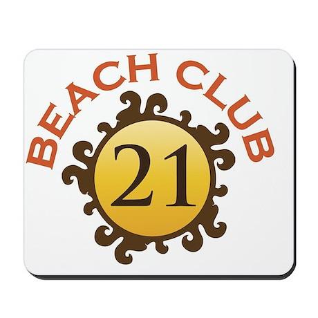 Beach Club 21 Mousepad