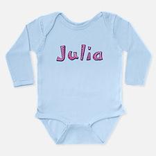 Julia Pink Giraffe Body Suit