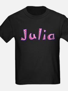 Julia Pink Giraffe T-Shirt
