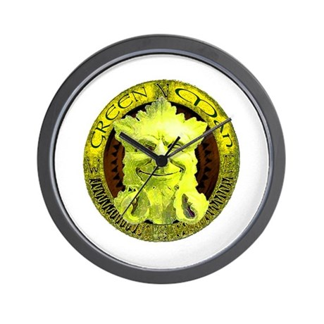 Green Man legend gifts and t- Wall Clock