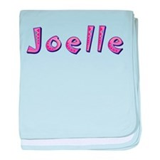 Joelle Pink Giraffe baby blanket