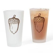 Acorn Drinking Glass