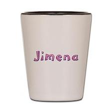Jimena Pink Giraffe Shot Glass