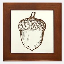 Acorn Framed Tile