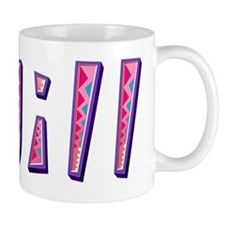 Jill Pink Giraffe Mugs