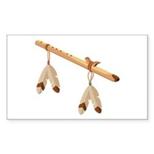 Native American Flute Decal