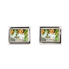 Marianne North - View from the Istana, S Cufflinks