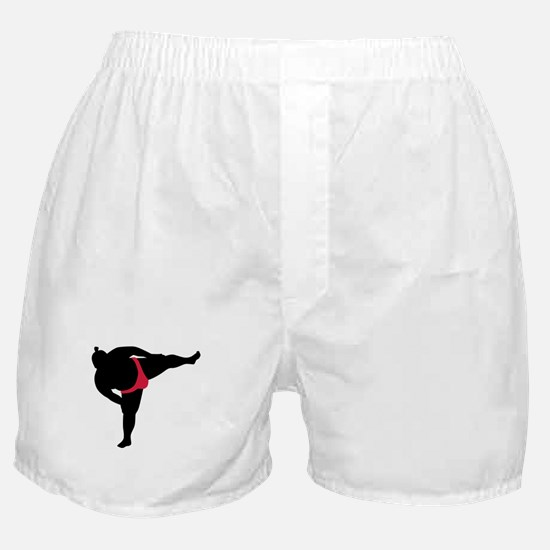 Sumo wrestling sports Boxer Shorts