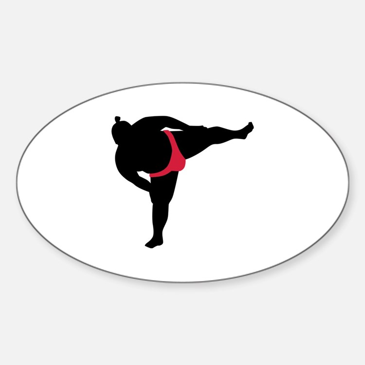 Sumo wrestling sports Decal