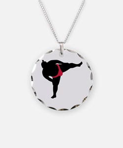 Sumo wrestling sports Necklace