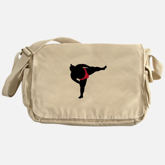 Sumo wrestling sports Messenger Bag