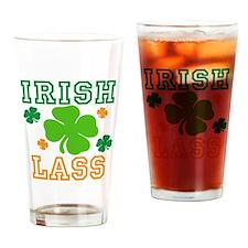 Irish Lass Drinking Glass