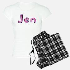 Jen Pink Giraffe Pajamas