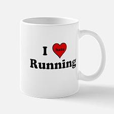 I Heart (hate) Running Mugs