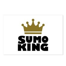 Sumo king champion Postcards (Package of 8)