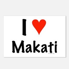 I love Makati Postcards (Package of 8)