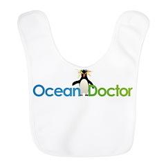 Ocean Doctor Penguin Logo Bib