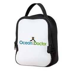 Ocean Doctor Penguin Logo Neoprene Lunch Bag