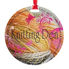Knittingden Ornament