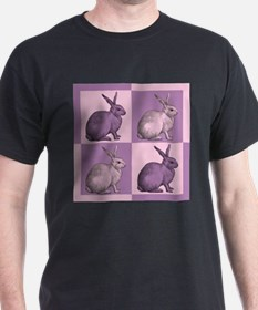 Purple and Pink Bunnies T-Shirt